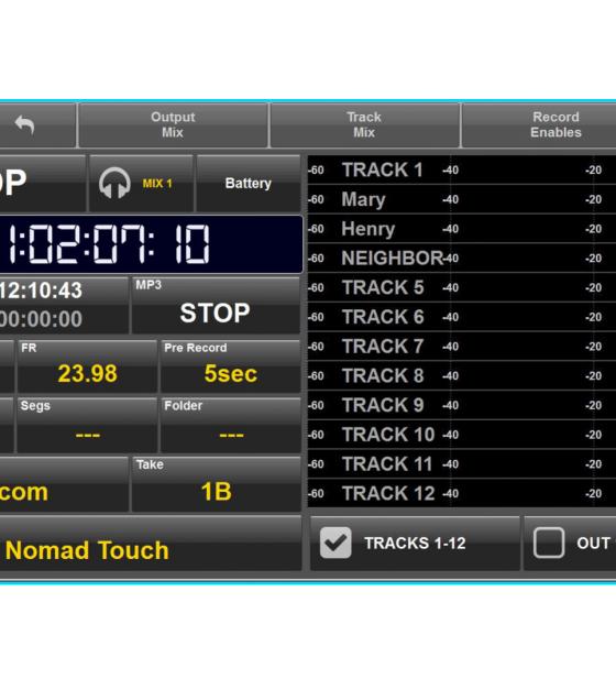 10 - Zaxcom - Nomad Touch