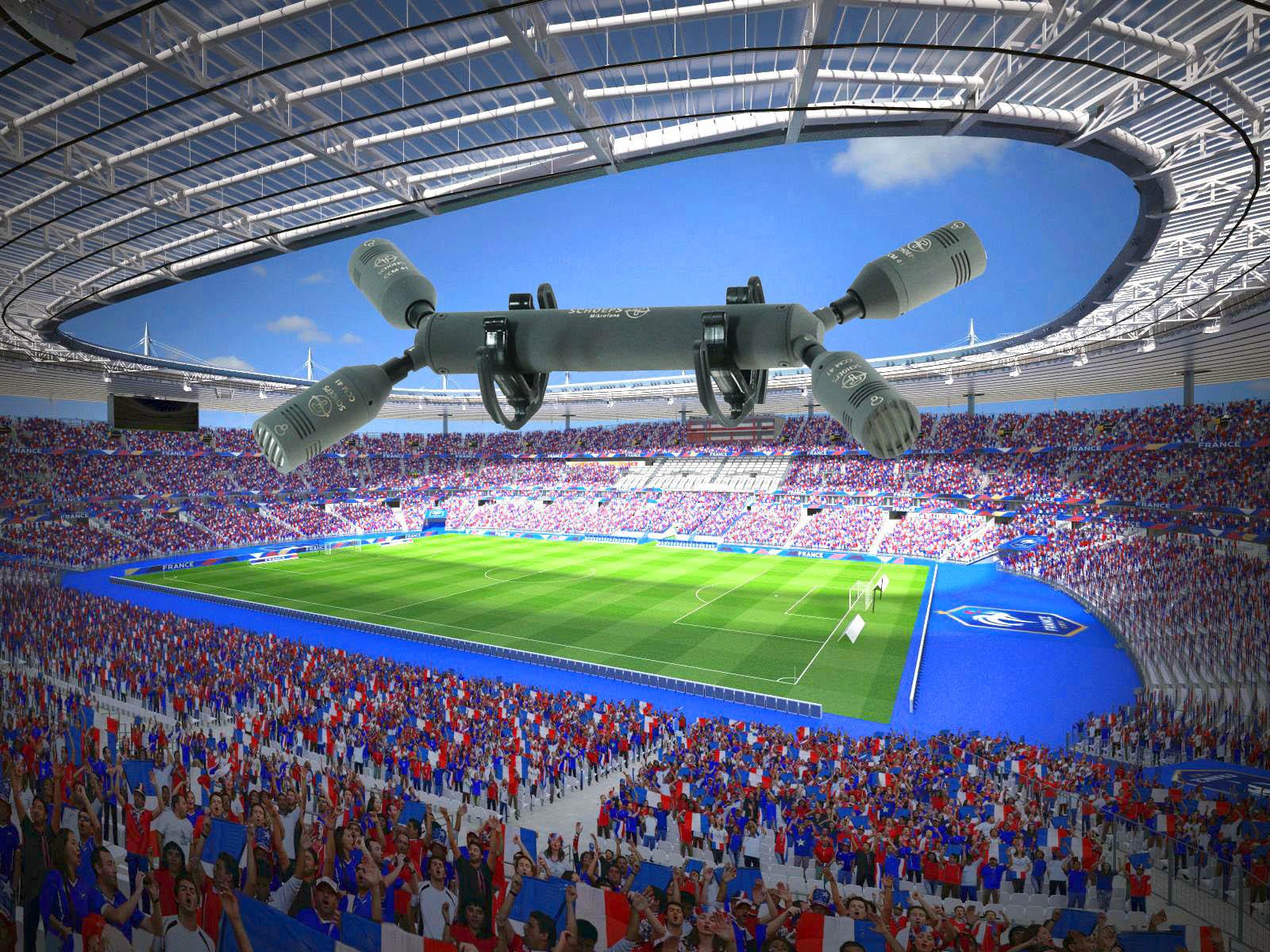ORTF Surround stade-de-france