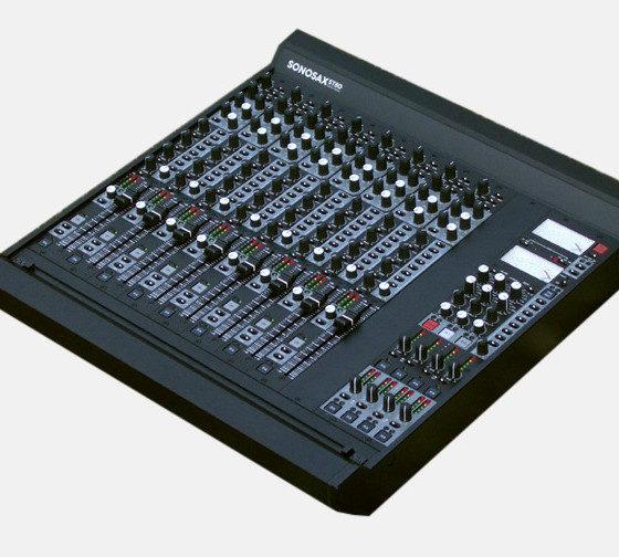 Consoles de mixage