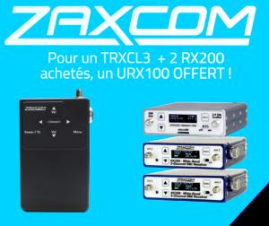 Promo ZAXCOM RX200