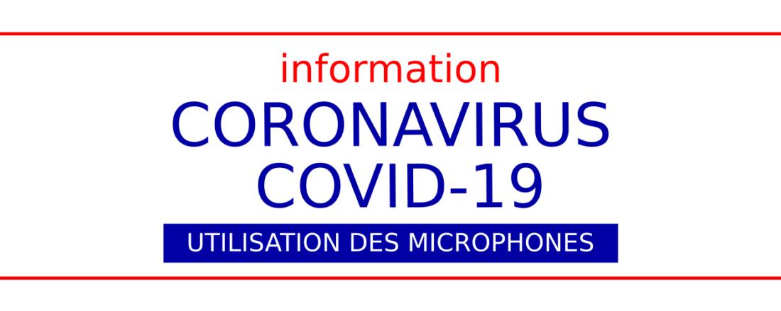 covid-19 et microphones