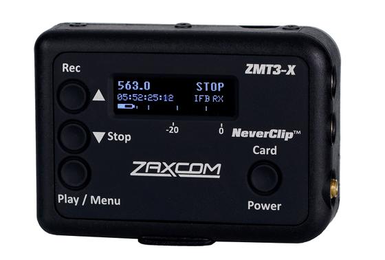 Zaxcom ZMT3-X Angled